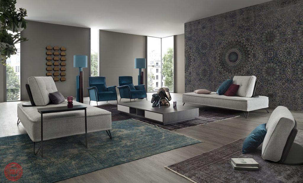 Sicomob -canapés et fauteuils - illustration mobilier de france derenis