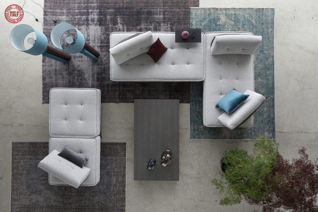 Sicomob -canapés et fauteuils - illustration mobilier de france derenis 2