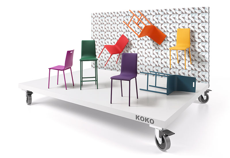 Sicomob - Tables & Chaises - MOBLIBERICA - KOKO